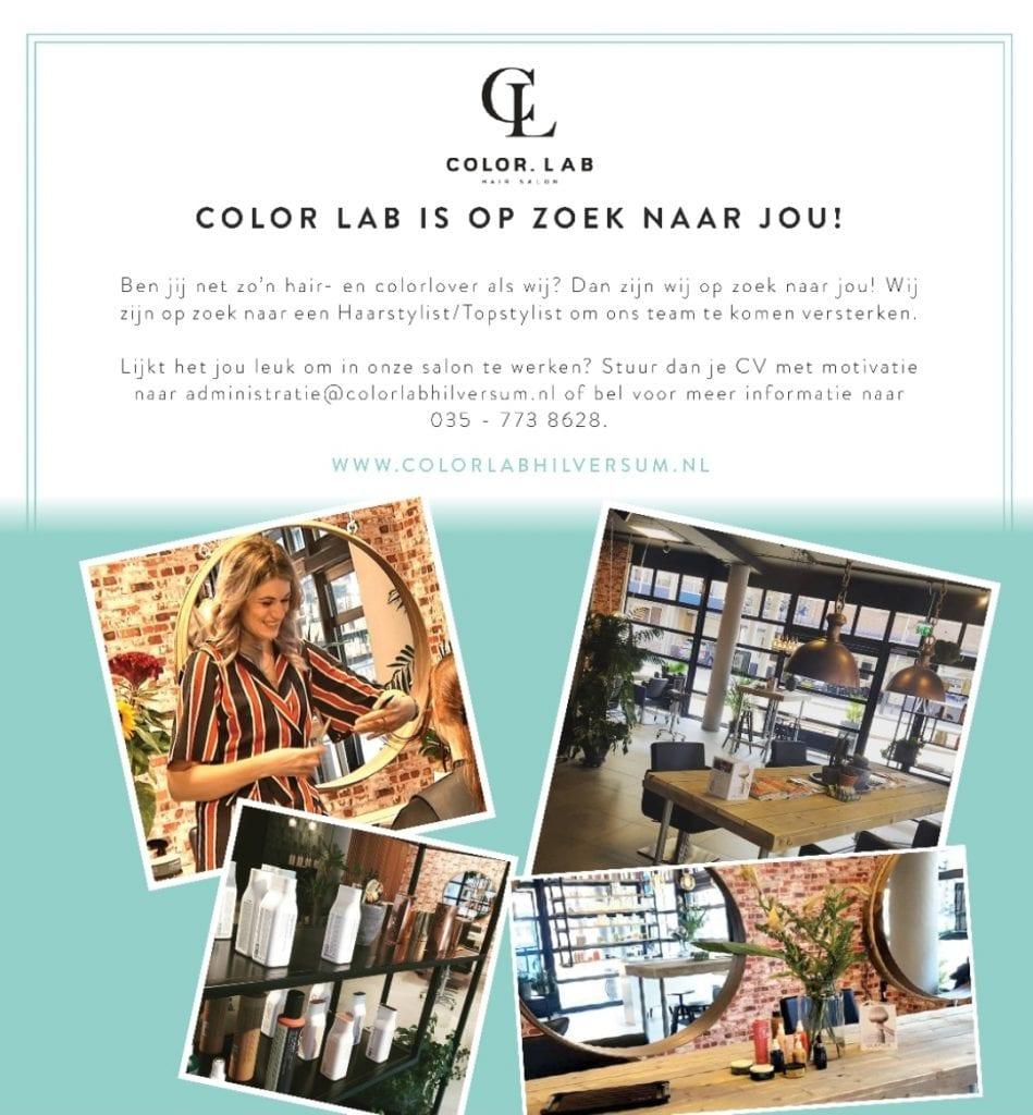 Colorlab Hilversum Vacature 2021